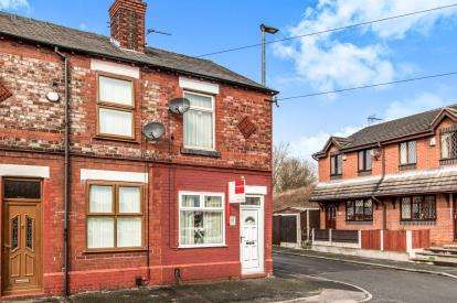 2 Bedrooms End Of Terrace House for sale in Cross Street, Warrington, Cheshire