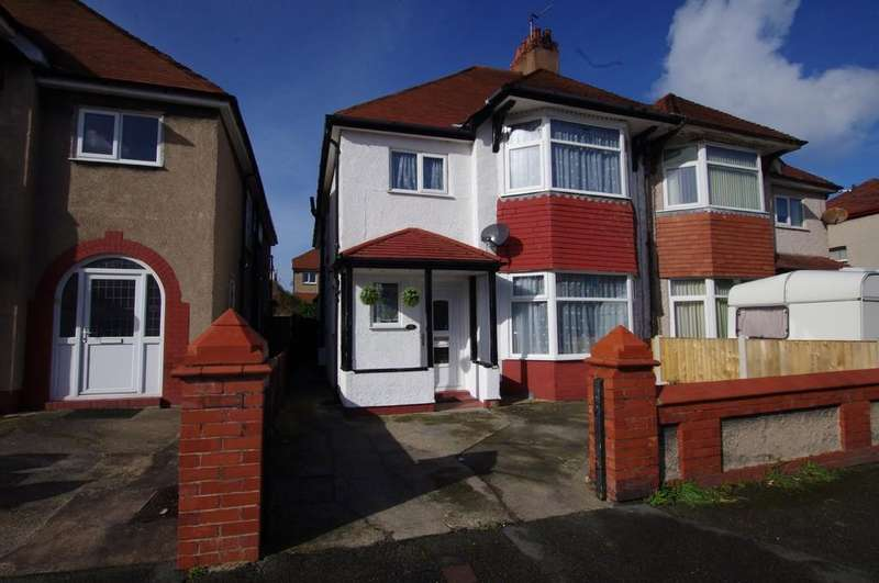 4 Bedrooms Semi Detached House for sale in Berthes Road, Old Colwyn