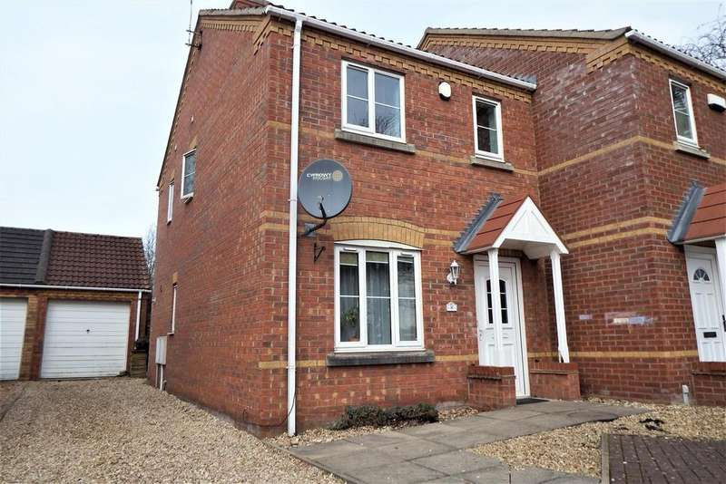 3 Bedrooms Semi Detached House for sale in Kings Court, Kirton, Boston