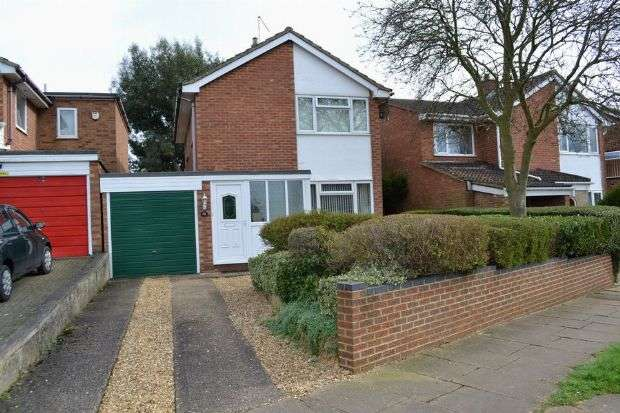 3 Bedrooms Detached House for sale in Hazeldene Road, Links View, Northampton NN2 7NW
