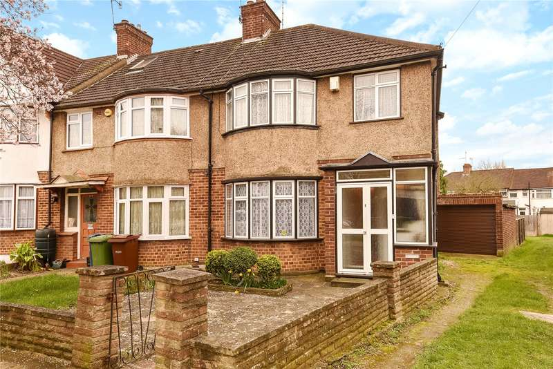 3 Bedrooms End Of Terrace House for sale in Southdown Crescent, Harrow, Middlesex, HA2