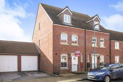 3 Bedrooms Semi Detached House for sale in Sapphire Way, Brockworth, Gloucester, Gloucestershire