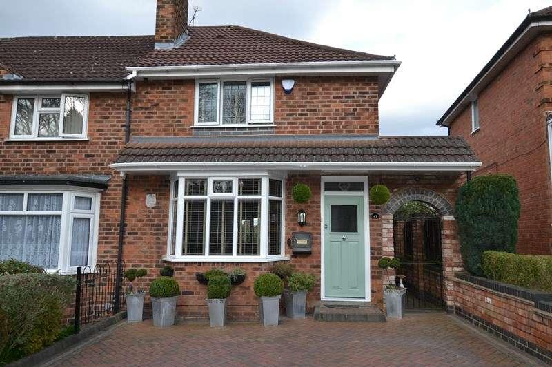 2 Bedrooms End Of Terrace House for sale in Weoley Avenue, Selly Oak, Birmingham