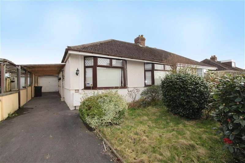 2 Bedrooms Semi Detached Bungalow for sale in Queens Drive, Hanham, Bristol