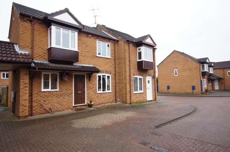 2 Bedrooms Semi Detached House for sale in Aima Court, Nettleham, Lincoln