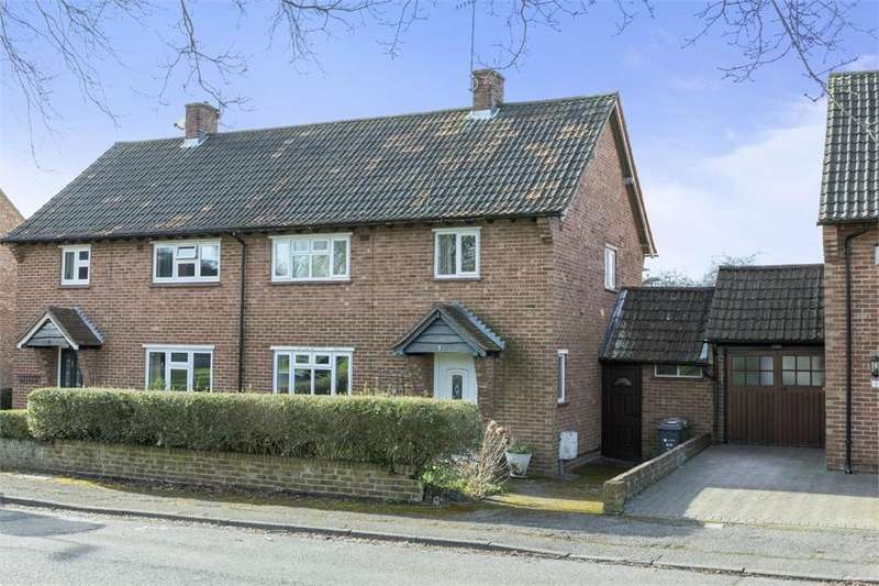 3 Bedrooms Semi Detached House for sale in Hall Dene Close, Guildford, Surrey