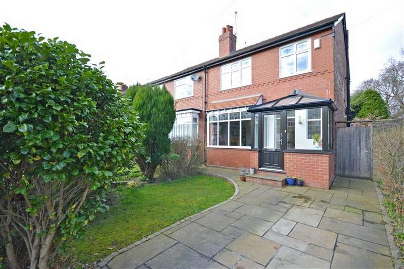 3 Bedrooms Property for sale in CROSSFIELD GROVE, Woodsmoor, Stockport, Cheshire, SK2