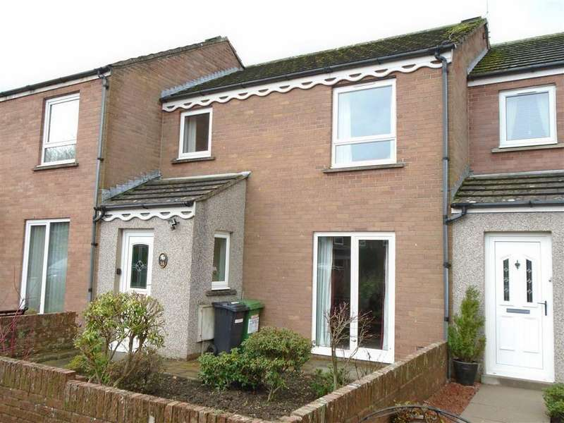 3 Bedrooms Terraced House for sale in St Kentigerns Way, Aspatria, Wigton, Cumbria