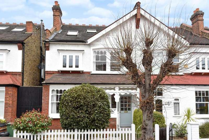 5 Bedrooms Semi Detached House for sale in Stanton Road, West Wimbledon, SW20