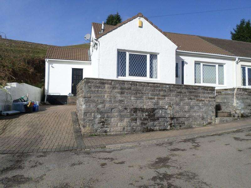 2 Bedrooms Semi Detached House for sale in The Rise, Porth