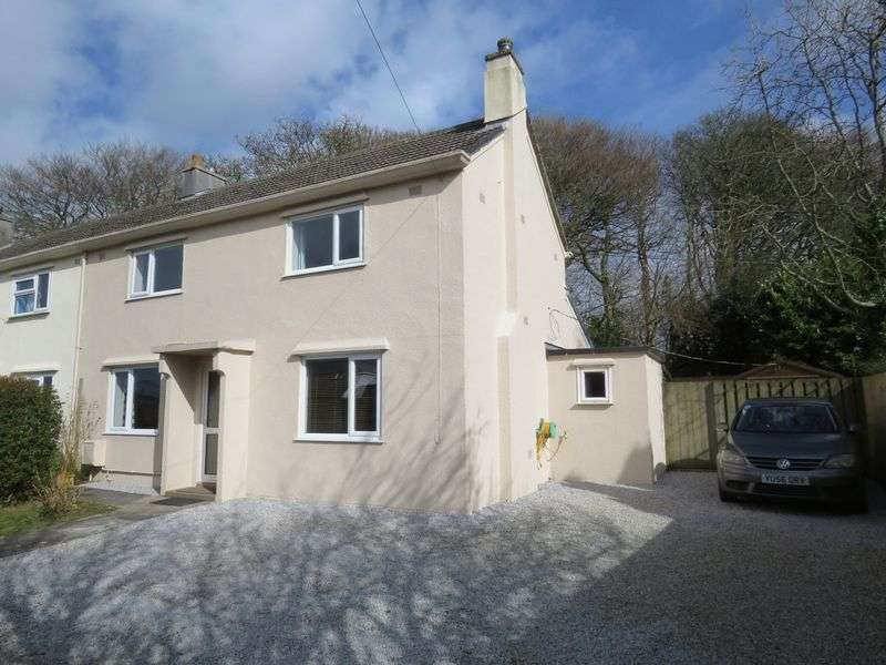 3 Bedrooms Semi Detached House for sale in Gig Lane, Carnon Downs
