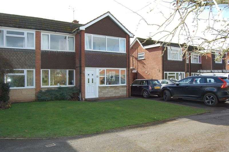 3 Bedrooms Semi Detached House for sale in Arrow Drive, Albrighton, Wolverhampton