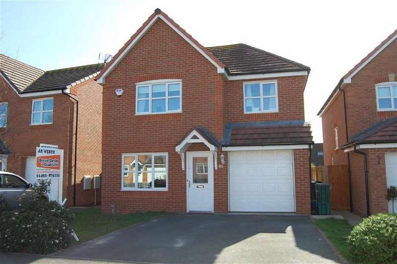 3 Bedrooms Detached House for sale in Llys Onnen, Llandudno Junction, Conwy