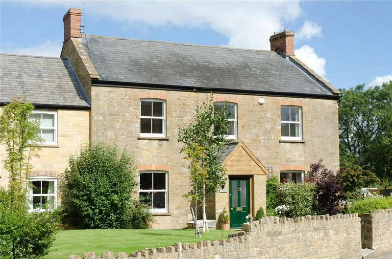 4 Bedrooms Semi Detached House for sale in Blind Lane, Bower Hinton, Martock, Somerset