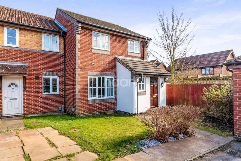 3 Bedrooms End Of Terrace House for sale in Chepstow Close, Chells Manor, Stevenage