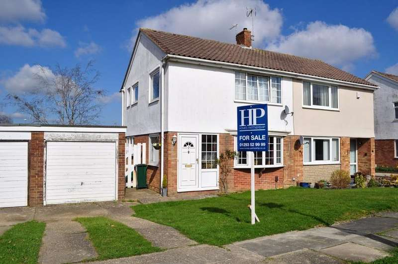 3 Bedrooms Semi Detached House for sale in Cob Walk, Gossops Green