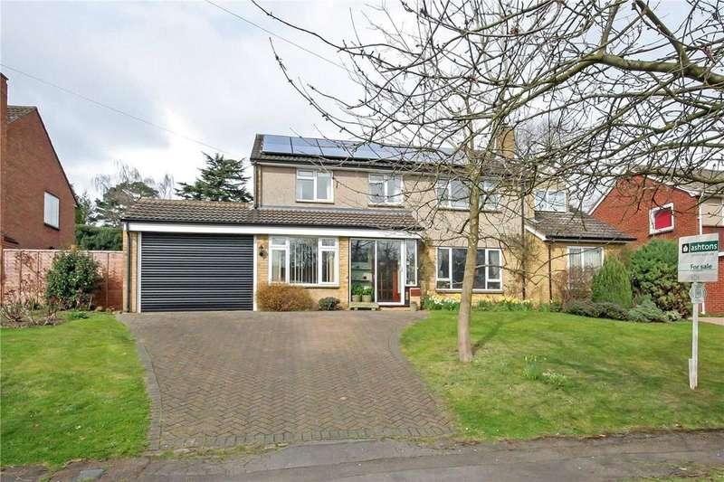 4 Bedrooms Detached House for sale in Barns Dene, Harpenden, Hertfordshire