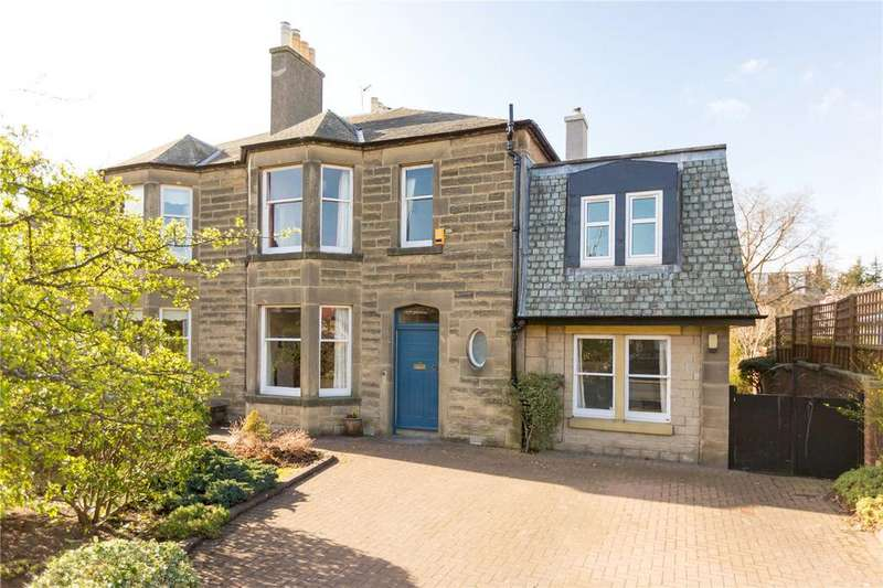 5 Bedrooms Semi Detached House for sale in 13 Campbell Road, Murrayfield, Edinburgh, EH12