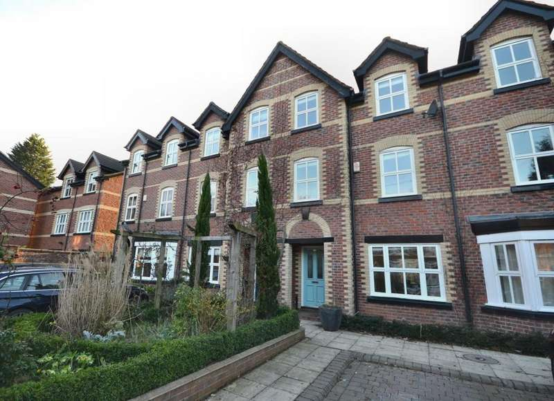 3 Bedrooms Town House for sale in Gillbrook Road, Didsbury