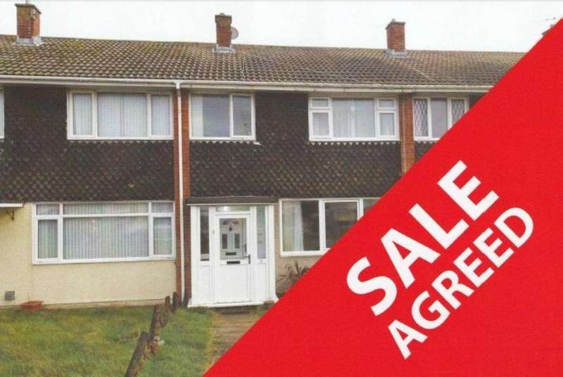 3 Bedrooms Terraced House for sale in FULMAR ROAD, REST BAY, PORTHCAWL, CF36 3UL