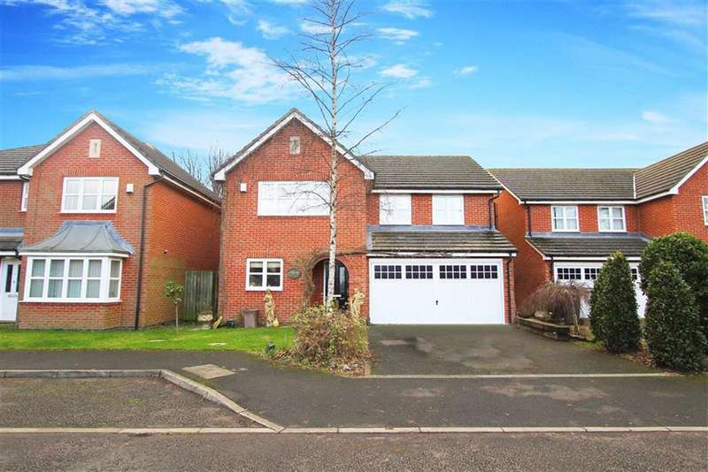 5 Bedrooms Detached House for sale in Briar Vale, West Monkseaton, Tyne And Wear