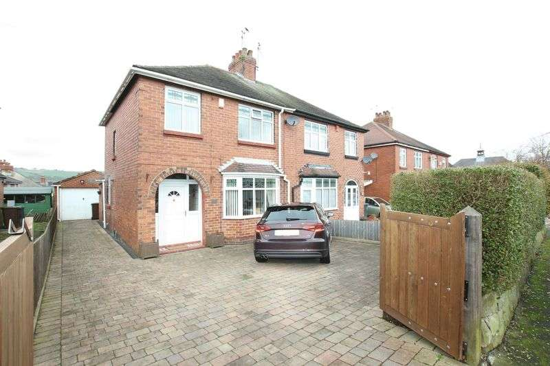 3 Bedrooms Semi Detached House for sale in Moorfield Avenue, Biddulph