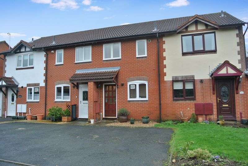 2 Bedrooms Terraced House for sale in Birbeck Drive, Madeley, Telford, Shropshire.