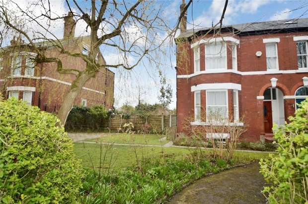 5 Bedrooms Semi Detached House for sale in The Crescent, Davenport, Stockport, Cheshire