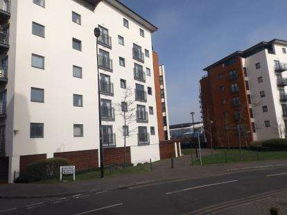 1 Bedroom Flat for sale in Galleon Way, Cardiff Bay, Cardiff, Caerdydd