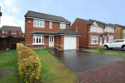 4 Bedrooms Detached House for sale in Broomhill Court, Kilwinning, North Ayrshire