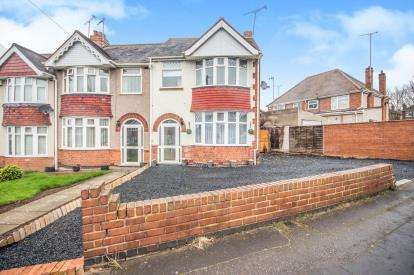 3 Bedrooms End Of Terrace House for sale in Hollow Crescent, Radford, Coventry
