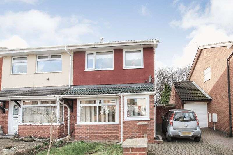 3 Bedrooms Semi Detached House for sale in Skerries Crescent, Redcar