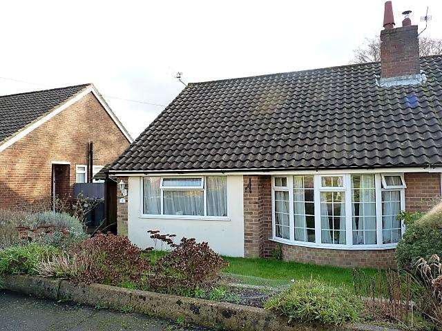 2 Bedrooms Semi Detached House for sale in Kennedy Close, Heathfield, East Sussex, TN21 8BD