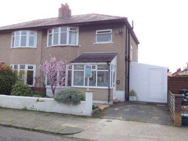 3 Bedrooms Semi Detached House for sale in Beulah Avenue, Bare, Lancashire, LA4 6UD