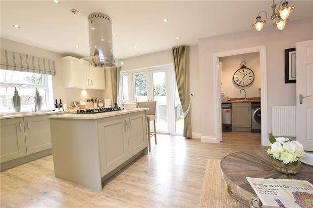 6 Bedrooms Detached House for sale in Plot 4 The Sandhurst, Churchill Gardens, Broad Lane, Yate, BRISTOL, BS37 7LA