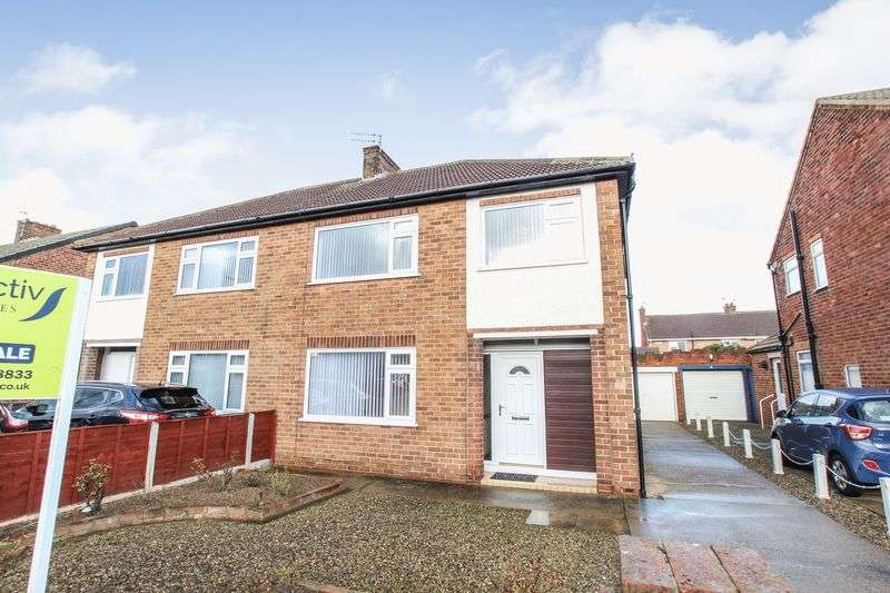 3 Bedrooms Semi Detached House for sale in Ryehills Drive, Marske