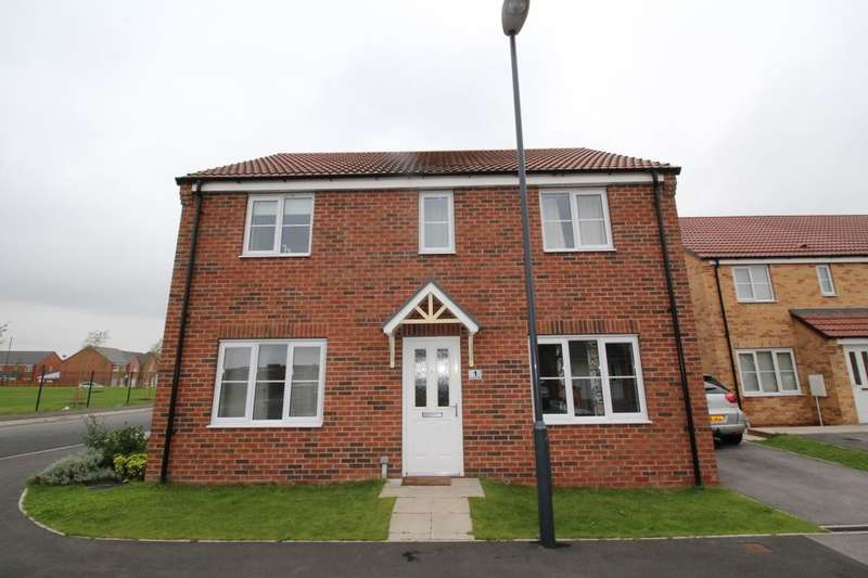 4 Bedrooms Detached House for sale in Fir Tree Close, Selby, YO8