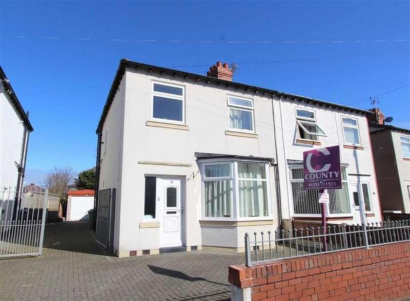 3 Bedrooms Semi Detached House for sale in Dalton Street, Lytham St Annes, Lancashire