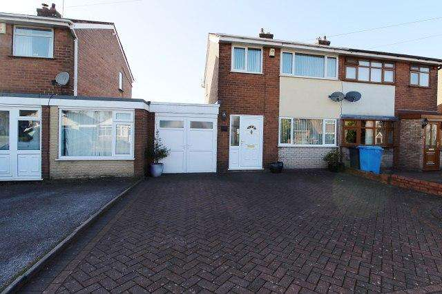 3 Bedrooms Semi Detached House for sale in Quinton Avenue,Great Wyrley,Staffordshire