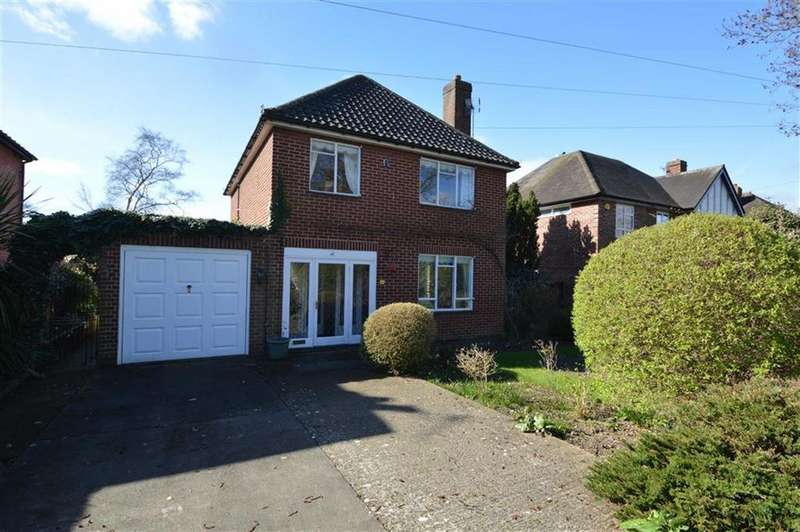 3 Bedrooms Detached House for sale in 41, South Hermitage, Shrewsbury, SY3