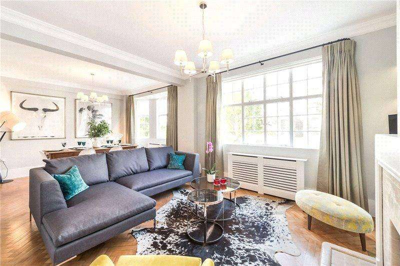 3 Bedrooms Flat for sale in Cornwall Gardens, South Kensington, London, SW7