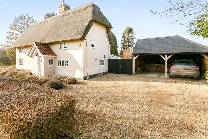 4 Bedrooms Detached House for sale in West Green, Barrington, Cambridge