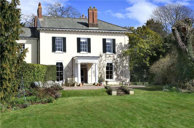 4 Bedrooms Semi Detached House for sale in Grove Road, Whimple, Exeter, Devon, EX5