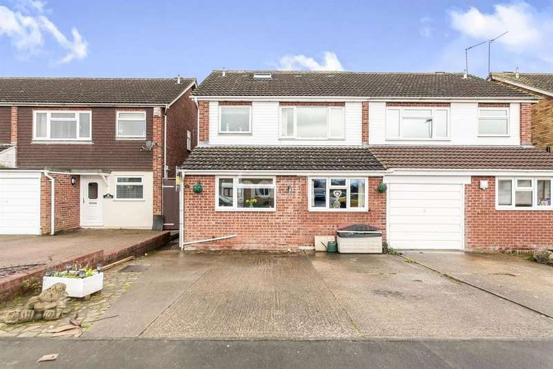 4 Bedrooms Semi Detached House for sale in Norbury Close, Marks Tey, CO6