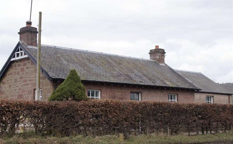 2 Bedrooms Detached Bungalow for sale in Wester Drumatherty Farm Cottage, Murthly, Perth, PH1