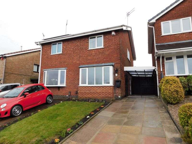 2 Bedrooms Semi Detached House for sale in Capricorn Way, Stoke-On-Trent