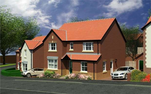 4 Bedrooms Detached House for sale in Plot 12, The Commodore, Llanyravon, Cwmbran