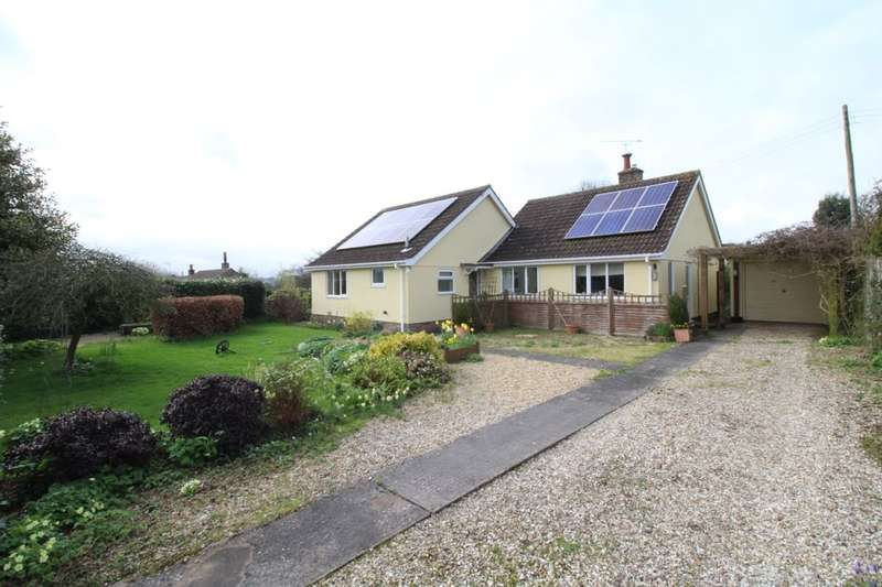 3 Bedrooms Detached Bungalow for sale in Wingletye, Crowcombe, TAUNTON, TA4
