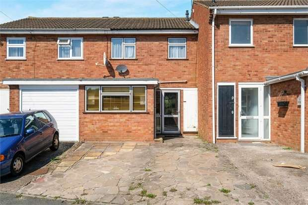 3 Bedrooms Terraced House for sale in Avon Close, Worcester