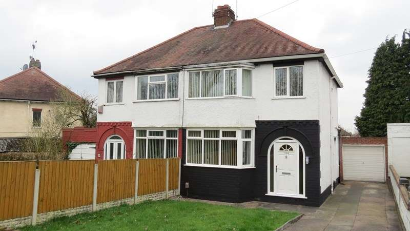 3 Bedrooms Semi Detached House for sale in Oxley Moor Road, Wolverhampton